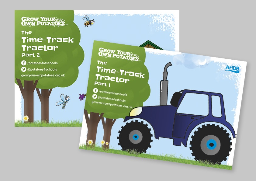 Time track tractor parts 1 & 2